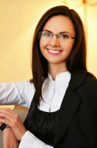 Бірюкова Вікторія Олександрівна - менеджер канікулярних програм UBD-Study