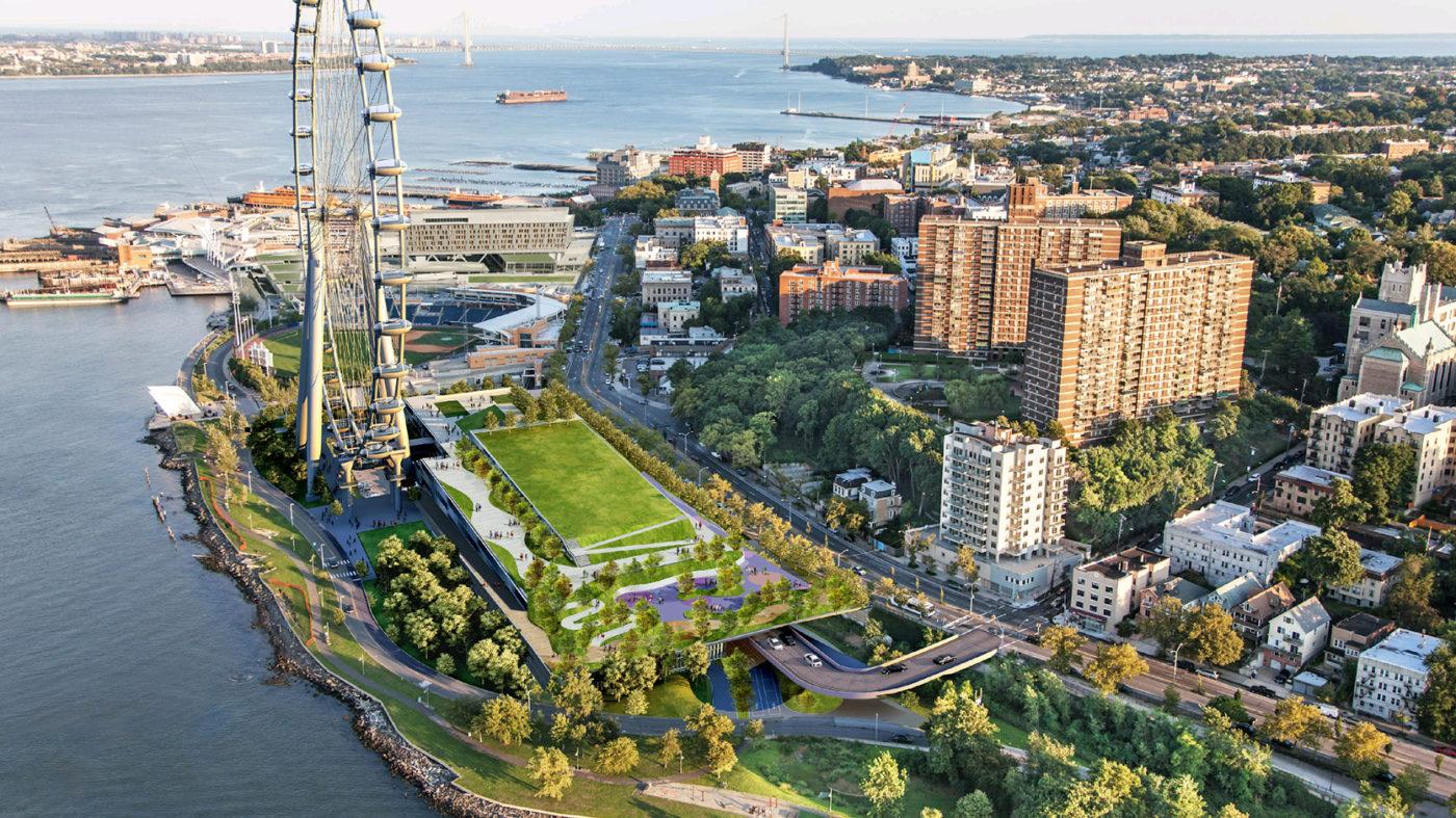 Staten Island — лето 2020 в США, Нью-Йорке