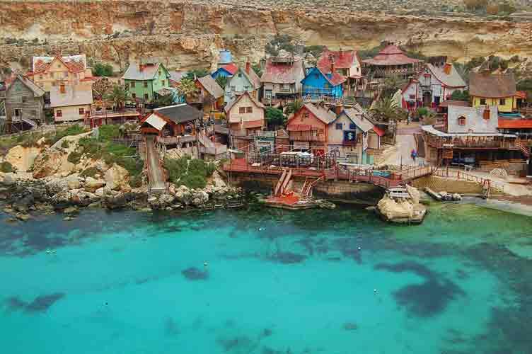 Popeye Village — поездка на Мальту для детей